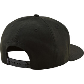 Troy Lee Designs Classic Signature Snapback, black/black